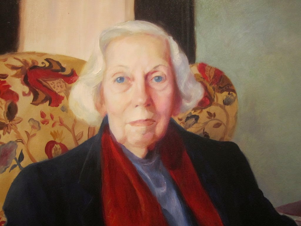 Portrait of Eudora Welty.  Image source: http://en.wikipedia.org/wiki/Eudora_Welty#mediaviewer/File:Eudora_Welty_at_National_Portrait_Gallery_IMG_4558.JPG