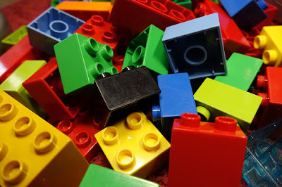A picture of block toys.