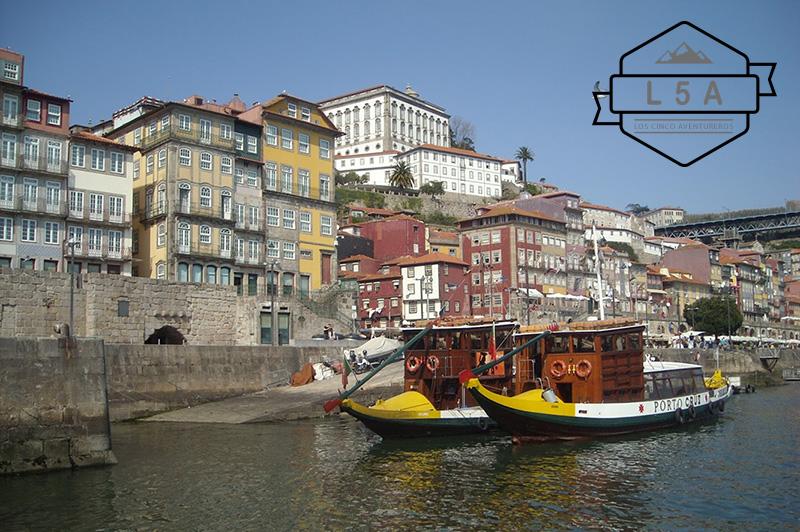 Rio Duero a su paso por Oporto