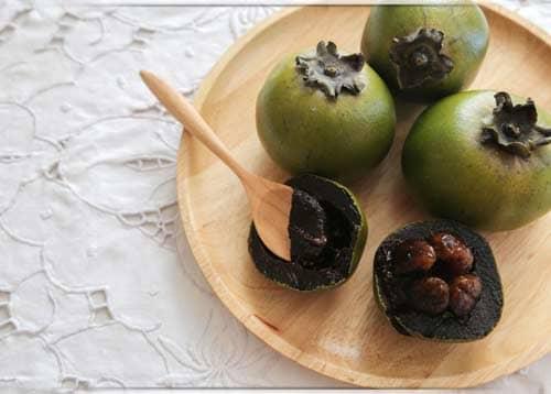 فوائد فاكهة الشيكولاتة السوداء