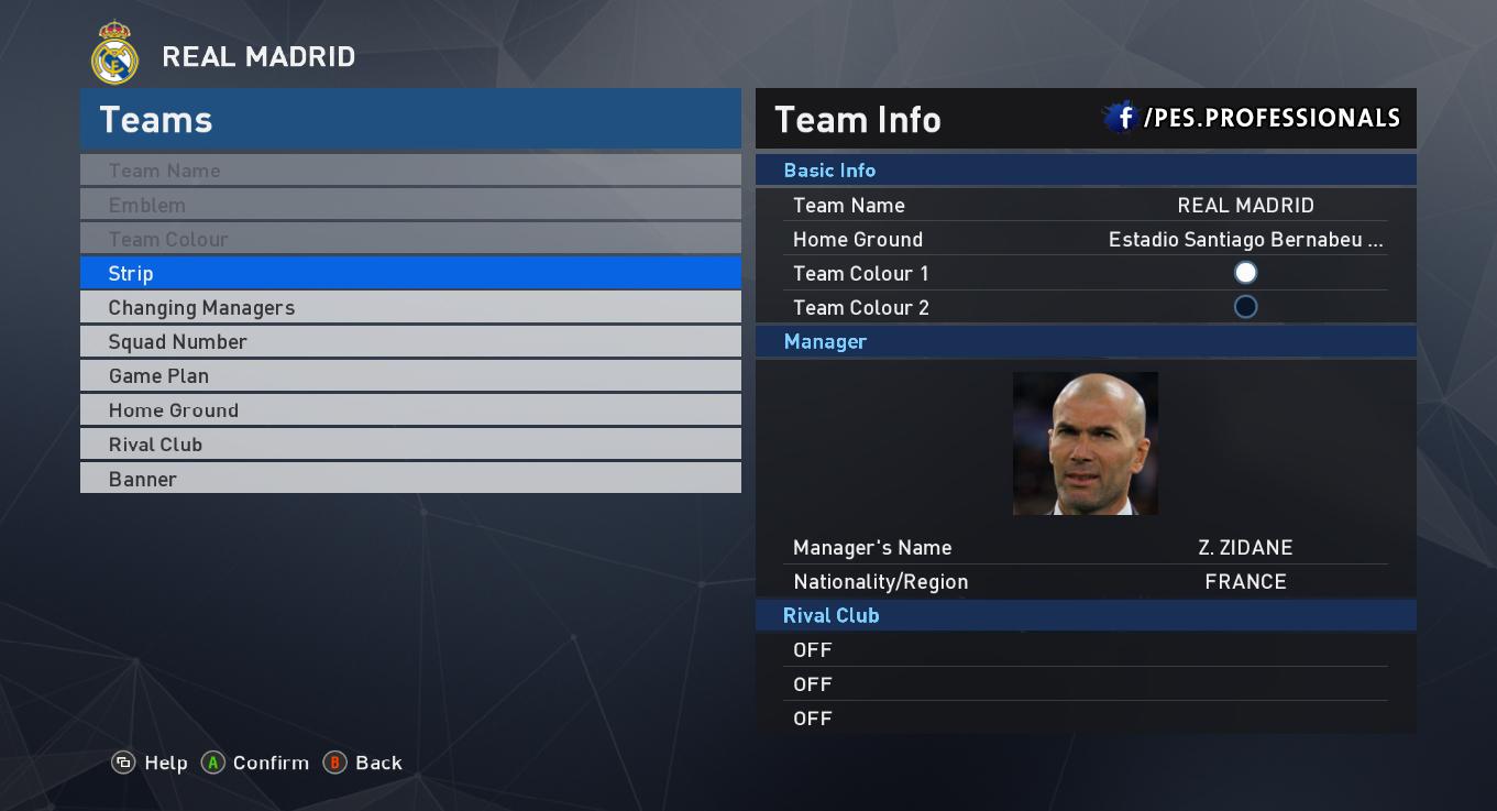 real coaches PES Professionals V1