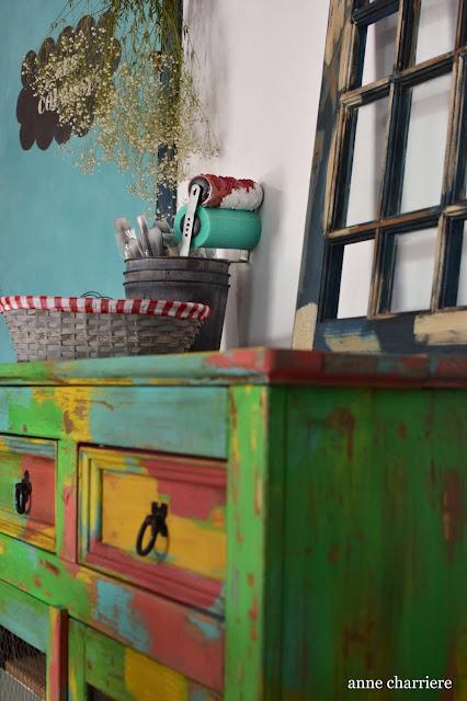 www.annecharriere.com, l'atelier d'anne, benahavis, marbella, taller pintura, chalk paint, autentico, la pajarita, craquelado,