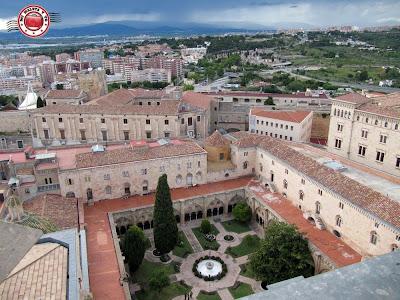 Vistas desde la cúpula de Tarragona