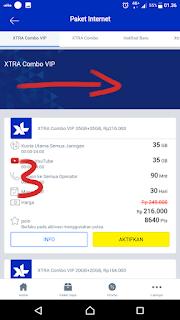 Cara Daftar Paket XL Unlimited XL 1 Bulan Termurah