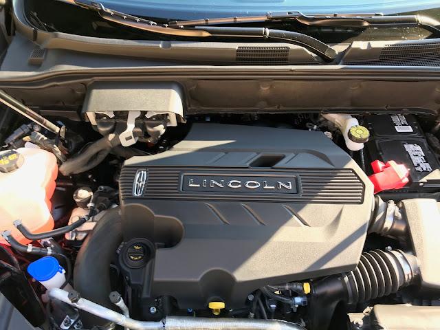 2.7-liter V6 in 2019 Lincoln Nautilus Black Label
