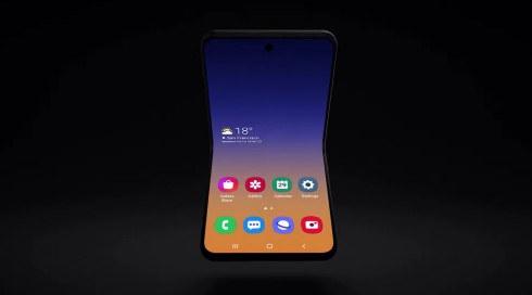 Samsung Kenalkan Konsep Ponsel Lipat yang Baru