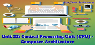 Central Processing Unit (CPU) - Computer Architecture