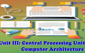 Unit III: Central Processing Unit (CPU) - Computer Architecture