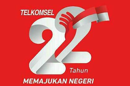 Selamat Ulang Tahun ke-22 Telkomsel
