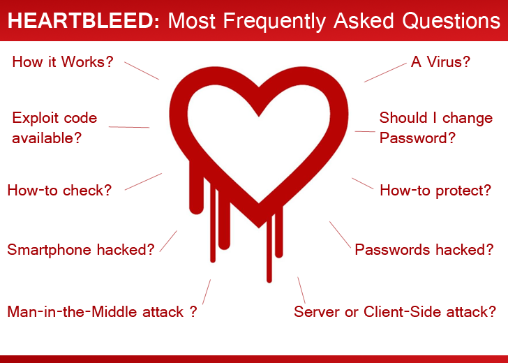 HeartBleed Bug Explained - 10 Most Frequently Asked Questions