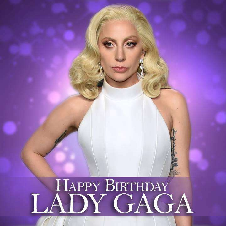 Lady Gaga's Birthday Wishes for Whatsapp