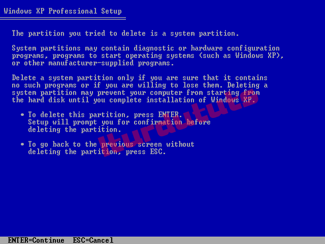 windows xp service pack 3 network installation training