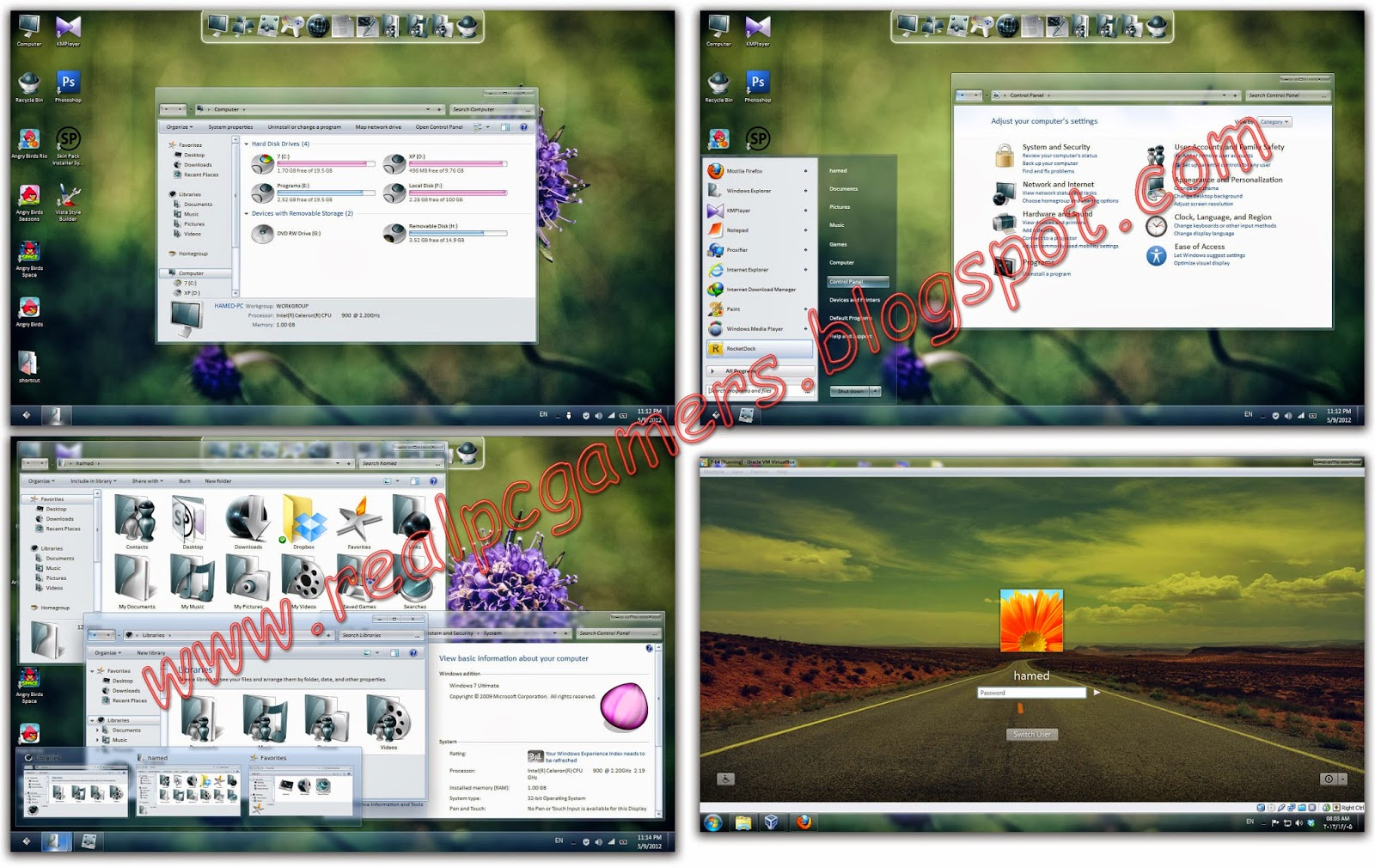 Glass skin pack for windows 7 free download