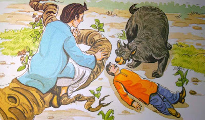 दो मित्र और भालू For Class Hindi Moral Stories