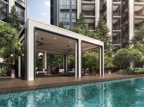 Mayfair Modern - Pool House Pavilion