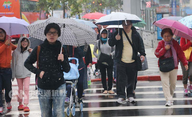 Karena Angin Monsun Timur, Suhu Taiwan Dingin Menjadi 16 Derajat Celcius