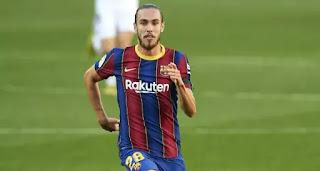 Barcelona B defender Oscar Mingueza's market value sky-rocketed since start of the season