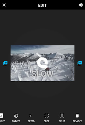 Apply slow motion to GoPro videos using Quik