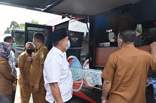 Bupati Batubara Launching Mobil Layanan KTP Elektronik