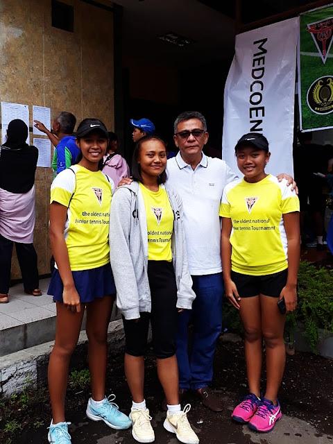Ketum PP PELTI Buka Kejurnas Tenis Yunior Legendaris di Bandung