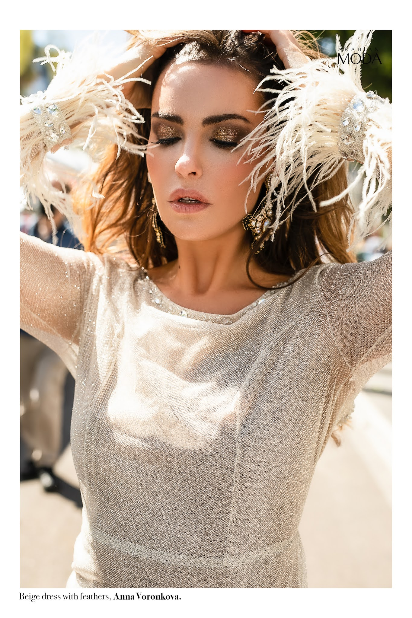 Arabian Moda x Anna Voronkova