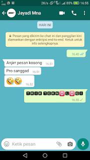 Membuat tulisan berwarna di Whatsapp