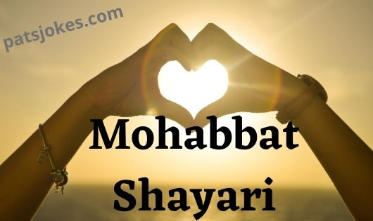 Mohabbat Shayari 2 line in hindi