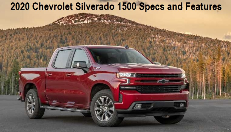 2020 Chevrolet Silverado 1500 Features
