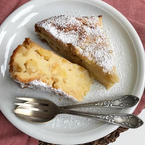 Ricotta-Apfelkuchen