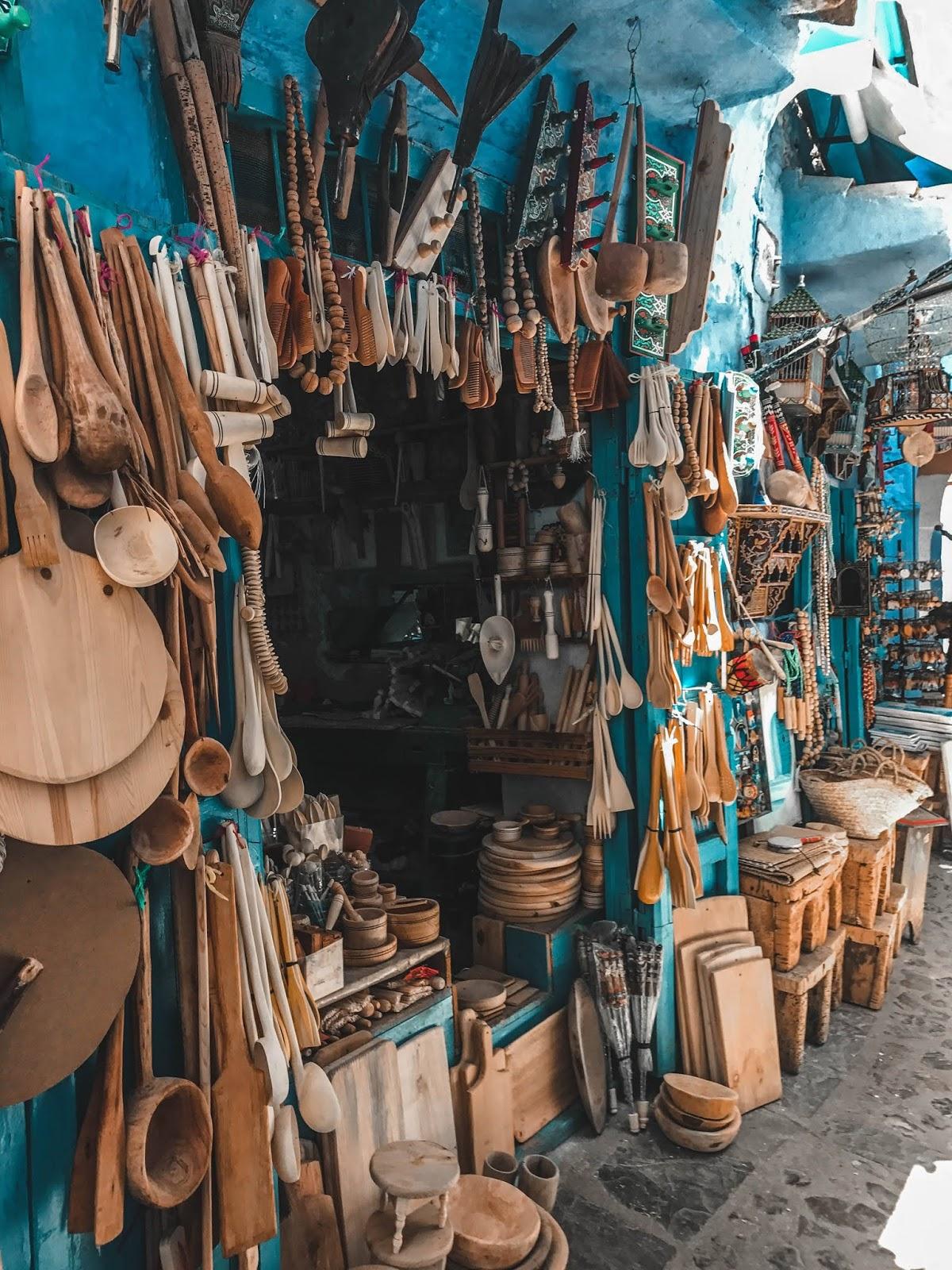 Chefchaouen Morocco Shopping