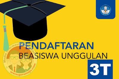 Beasiswa Unggulan 3T Tahun 2019 Oleh Kemdikbud