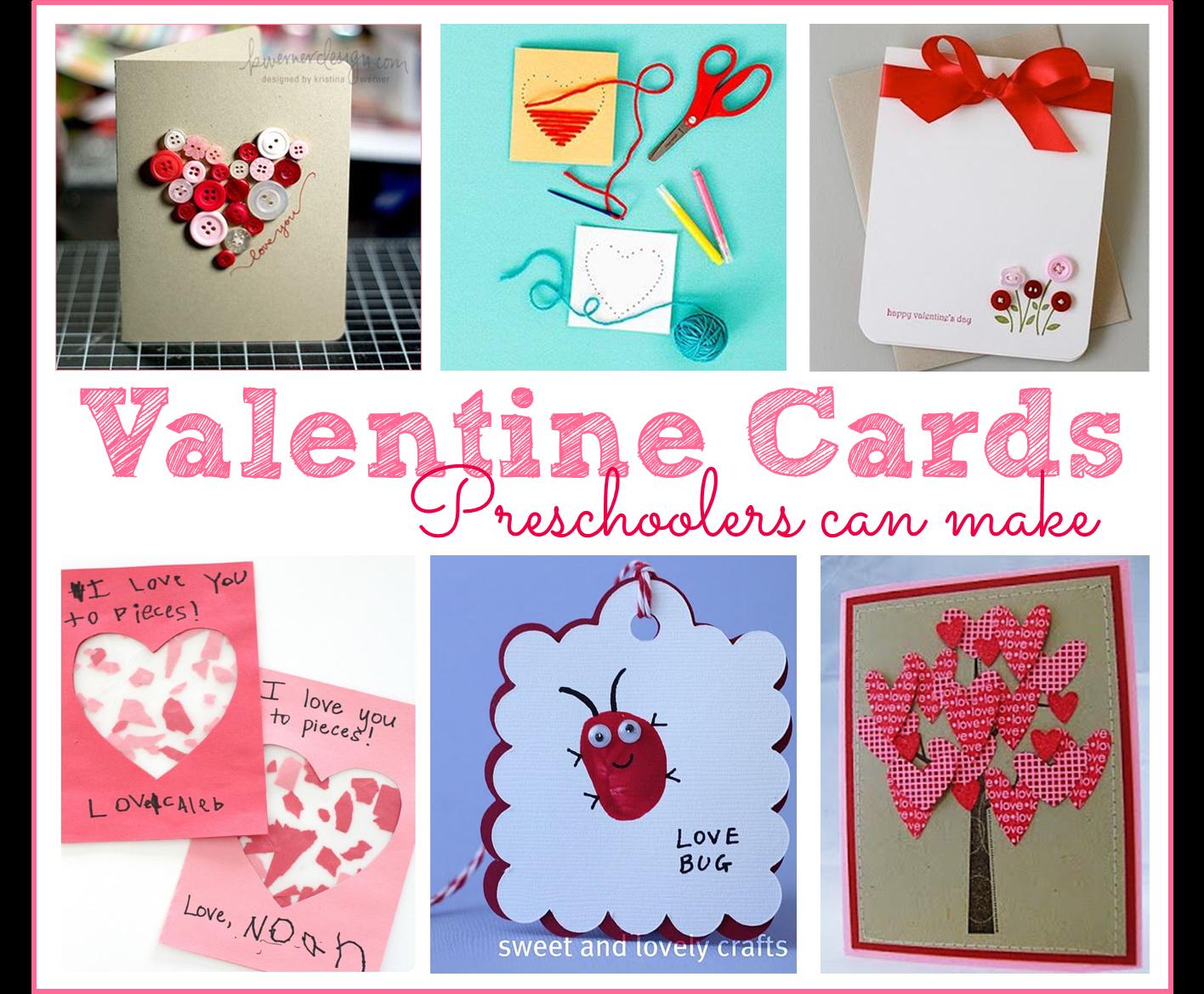 Preschool Ponderings Valentine S Day Cards That