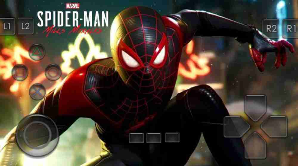 🔥Spider-Man Miles Morales Ps5 Game Apk Download For Android | Only 25 Mb😱