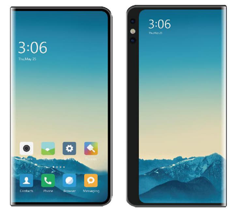 Xiaomi foldable smartphones? The company patents two designs