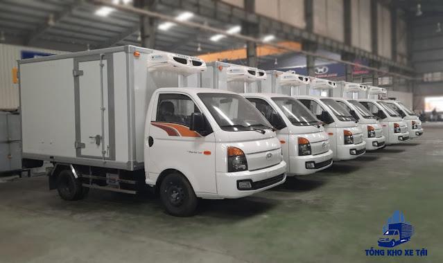 Xe đông lạnh 1 tấn 25 Hyundai Porter 150