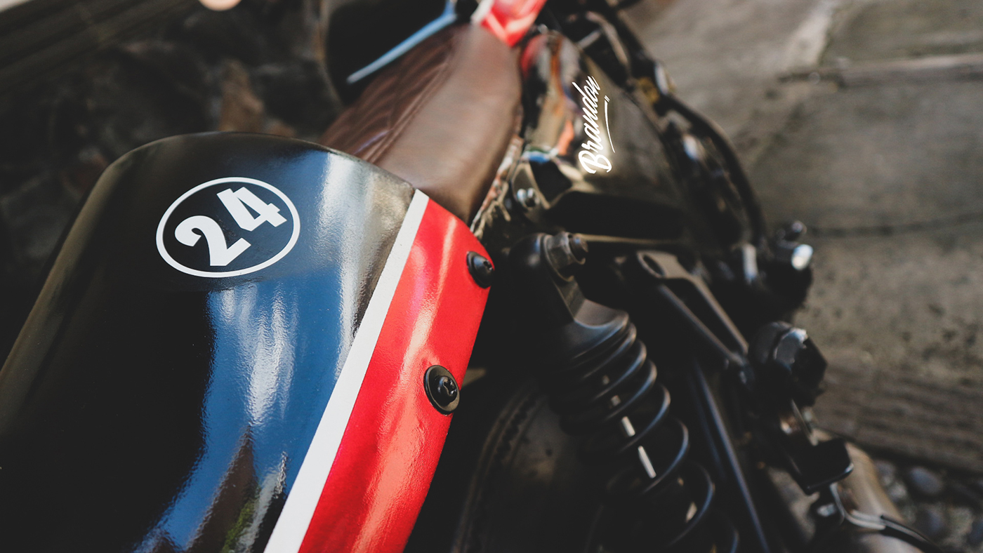 Hornet Cafe Racer Yamaha Scorpio