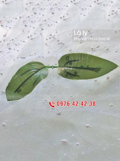 Phu kien hoa pha le o Dong Nhan