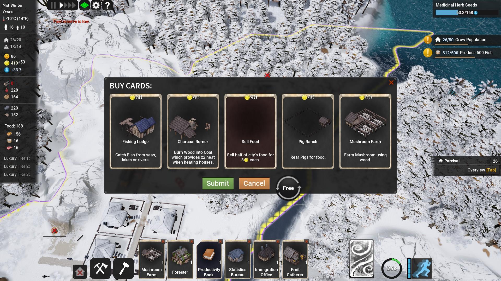 Kingdoms Reborn Property Cards