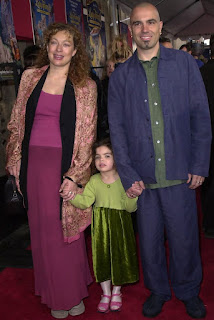Florian Haertel with his ex-wife Alex and daughter Salome