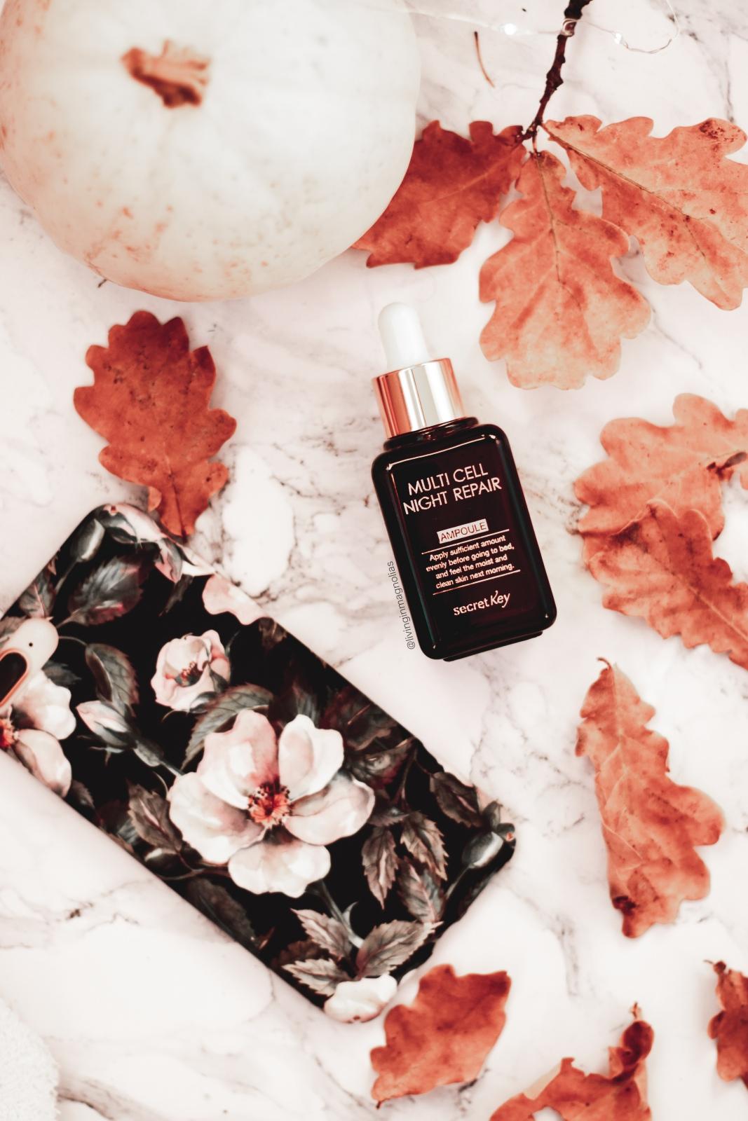 Autumn vibe how to save money jesien jak oszczedzac secret key multi cell night repair