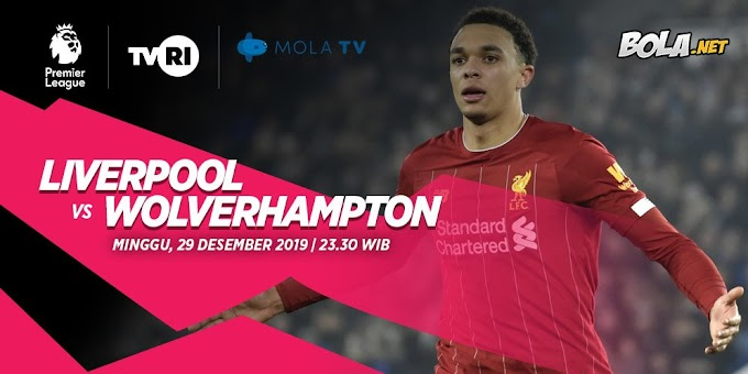 Prediksi Liverpool vs Wolverhampton 29 Desember 2019