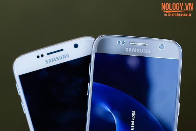 Trên tay chiếc Samsung Galaxy S7 thời thượng