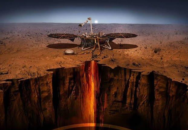 Landing NASA InSight inizia missione esplorativa sul pianeta Marte.