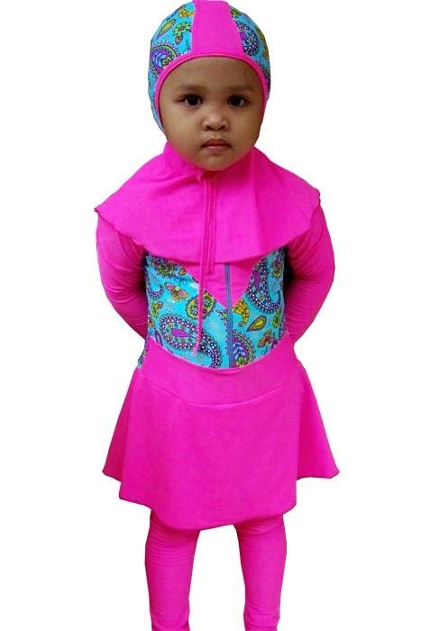 Model Baju Renang Muslimah Untuk Anak