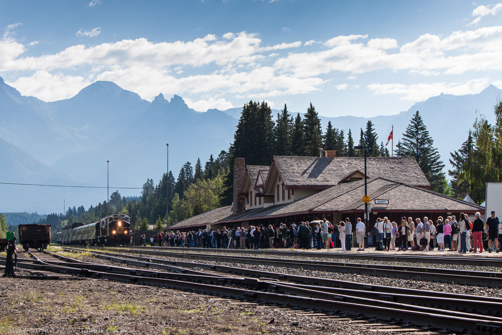 Confessions Of A Train Geek Return To Banff Part 2