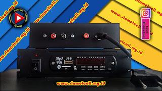 modul mp3 player dengan power supply