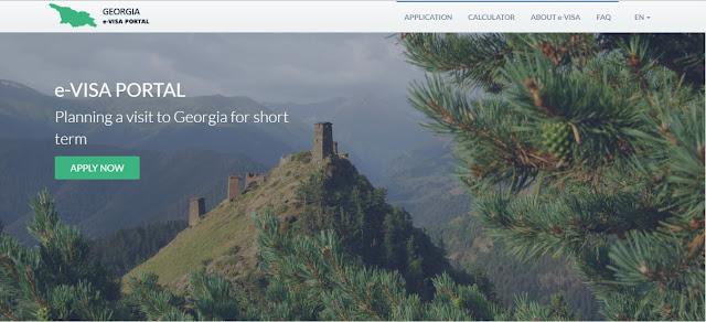 Apply e-Visa Georgia, Eropa Timur