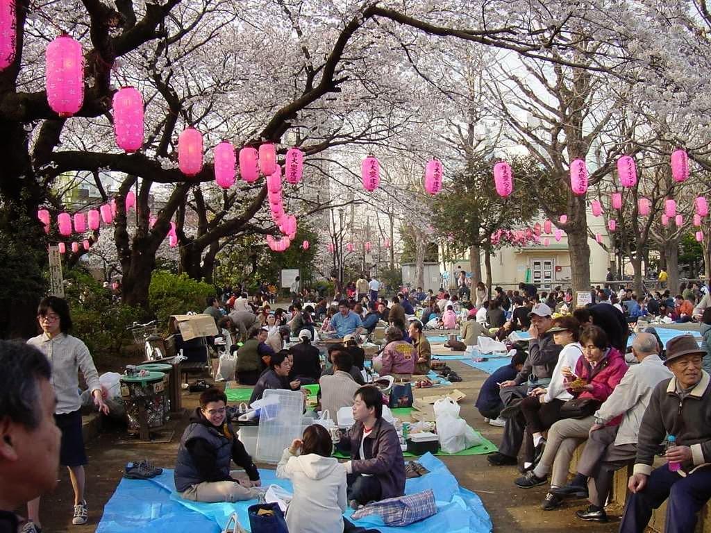 Hanami en Japón. Imagen: cheria-travel