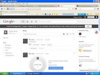 ID Goole Page Blogger Mobile