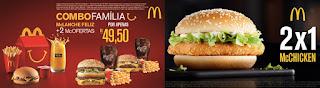 Cupons McOferta McDonald's Julho 2016